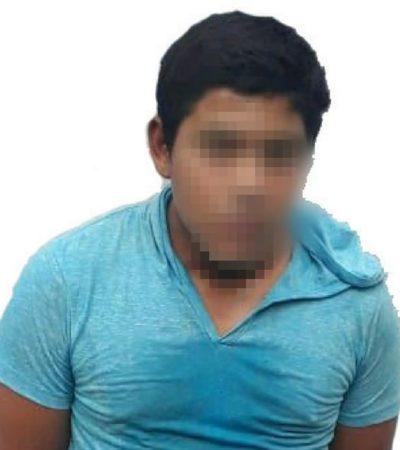 Atrapan a asaltante menor de edad en la Región 200 de Cancún