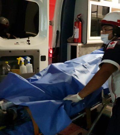 OTROS DOS BALEADOS EN LA REGIÓN 221: Disparan contra dos hombres en conflictiva zona de Cancún