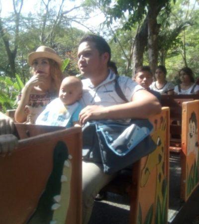 ASUETO EN MÉRIDA: 14 mil personas visitan el parque Centenario en día feriado