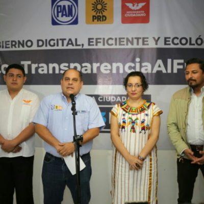 Refuerza 'Por México al Frente' promoción de Anaya en Quintana Roo