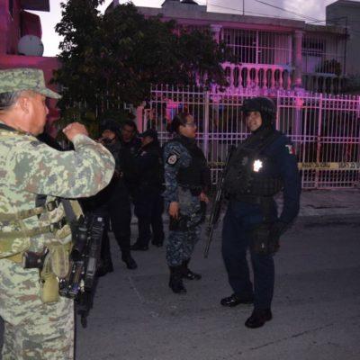 RAFAGUEAN VIVIENDA EN LA SM 59: Disparos cerca del cruce de avenida Kabah con Chichén Itzá sin heridos