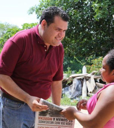 Propone Edgar Gasca programa de becas escolares para estudiantes de Isla Mujeres