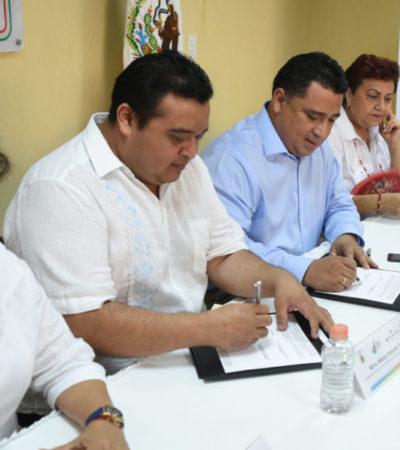 Congreso y CDHEQROO firman convenio de colaboración para promover los derechos humanos entre servidores públicos y la sociedad quintanarroense