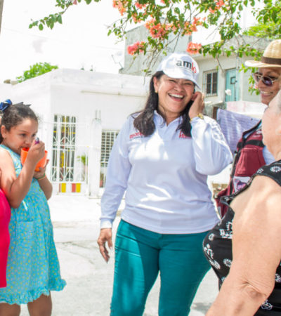 Promete Mildred Ávila erradicar la impunidad para debilitar los hechos delictivos de Cancún