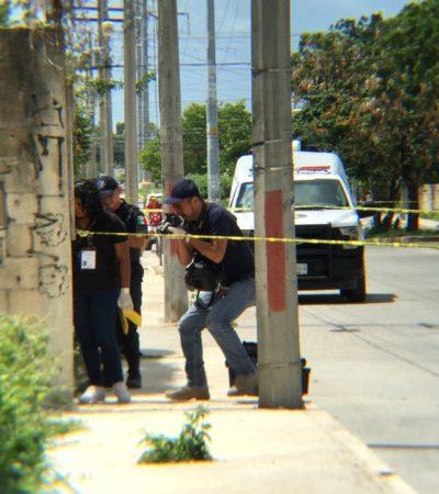 ASESINAN A UNA MUJER EN LA REGIÓN 227: Hallan semidesnuda a una fémina en un predio baldío en la Avenida Río Hondo de Cancún