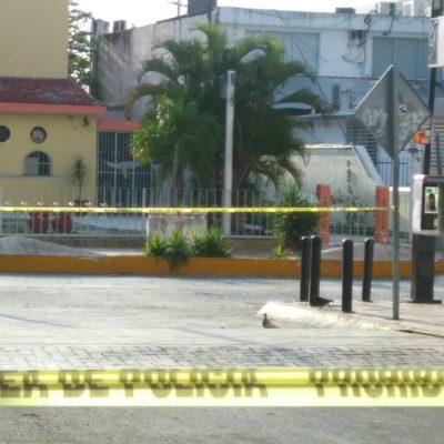 Hallan granada tirada en plena jardinera de la céntrica avenida Yaxchilán de Cancún
