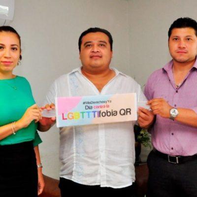 Derechos Humanos exhorta a la población a eliminar la discriminación contra la comunidad LGBTTTI, en el marco del Día Internacional contra la Homofobia, Transfobia y la Bifobia