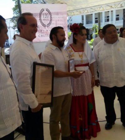 Conmemoran 120 años de la fundación de Chetumal