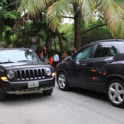 """Hoteleros """"privatizan"""" el camino costero de Tulum"""