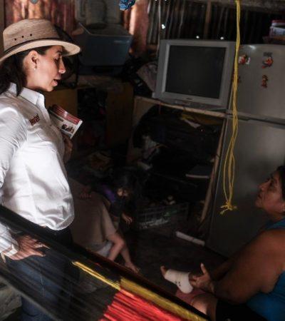 Dice Marybel Villegas que se revisará con 'lupa' la Reforma Energética porque en tres años no ha registrado beneficios para los mexicanos
