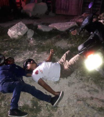 EJECUTAN A BALAZOS A DOS HOMBRES EN LA JUNGLA: Rafaguean a motociclistas en la Región 200 de Cancún