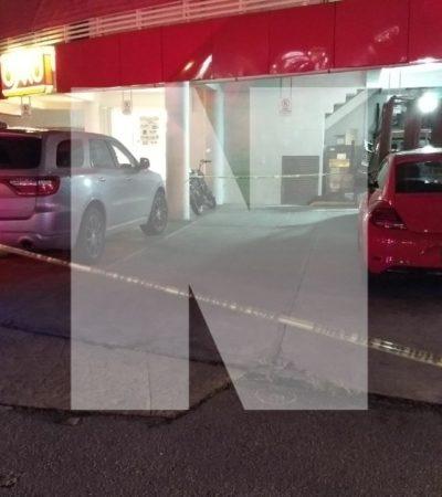 INTENTAN EJECUTAR A PRESUNTO EMPRESARIO EN EL CENTRO DE CANCÚN: Disparan contra el conductor de una camioneta en la SM 17 sin herirlo