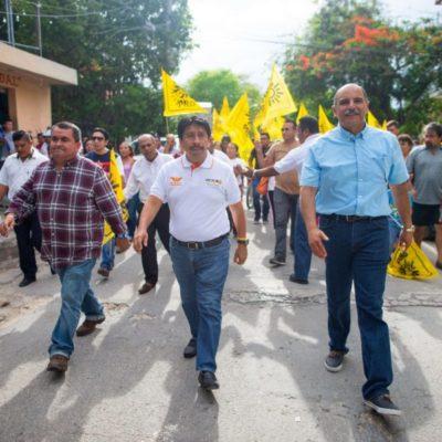 """""""Habrá orden en desarrollo urbano y materia ecológica en Tulum"""", se compromete Víctor Mas"""