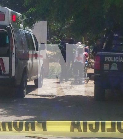 SÁBADO DE BALAZOS EN TIERRA MAYA: Un hombre y una mujer resultan lesionados por disparos con arma de fuego