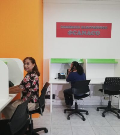 Ofrece CANACO asesoría tecnológica a micros y pequeños empresarios