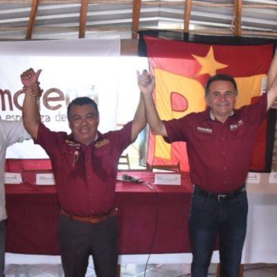 """""""En Bacalar debe generarse un crecimiento diferente al del norte del estado"""", dice José Luis Pech en el inicio de campañas municipales en el estado"""