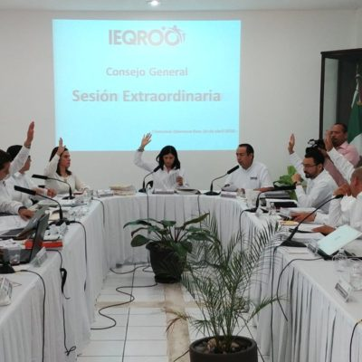 Acusa PRD a consejeros del Ieqroo de adelantar los tiempos para aprobar diseño definitivo de boletas a utilizarse en el proceso local electoral