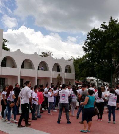 CANDIDATO INDEPENDIENTE VS ALCALDE: En su primer día de campaña, Issac Janix entrega 100 exigencias para Remberto Estrada antes de que deje el cargo