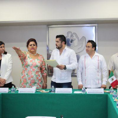 Designan a Marina González Zihel como delegada del ISSSTE en Quintana Roo