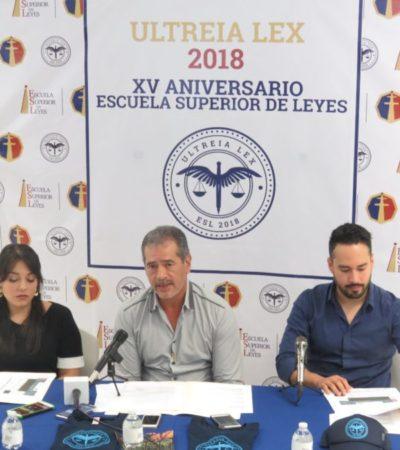 Instituto alista ponencias para festival jurídico