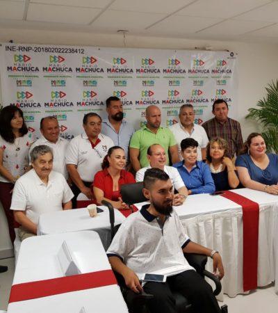 PRIISTA SALTA AL RUEDO EN BUSCA DEL VOTO DE LOS CANCUNENSES: Aspira Machuca a ser un candidato cercano a la gente, dice; presenta un consejo consultor ciudadano