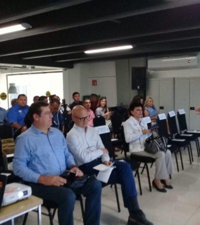 Hoteleros y gobierno de Solidaridad se preparan para afrontar temporada de huracanes