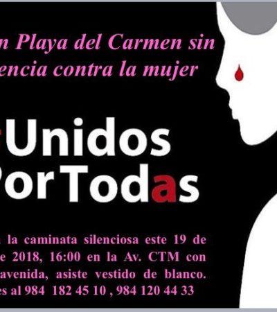 Alertan mujeres por señas de violador serial; invitan a marcha