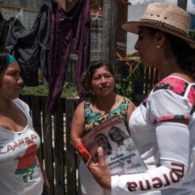 Marybel Villegas se compromete a trabajar en temas de seguridad, en Playa del Carmen