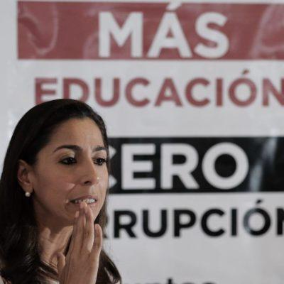 Acusa Marybel Villegas al Congreso de dilapidar recursos