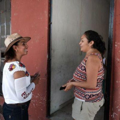 Recoge Marybel Villegas quejas por inseguridad en Playa del Carmen