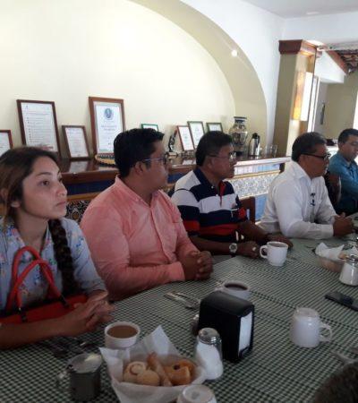 Abandonan a Morena en Cozumel; se van con Pedro Joaquín