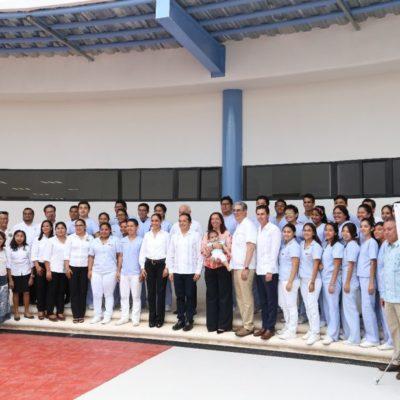 Inaugura Universidad Politécnica de Quintana Roo Clínica Laboratorio de Terapia Física en Cancún