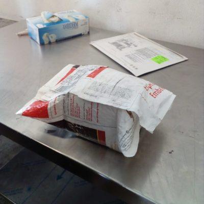 Interceptan paquete con aceite de canabis en el aeropuerto