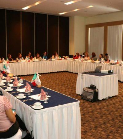 """""""HAY MUCHOS TRÁMITES QUE SON VERDADERAMENTE ENGORROSOS"""": Empresarias piden a candidatos que se acaben los trámites de 15 días y demandan más seguridad en Cancún"""