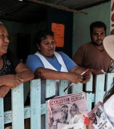 Marybel Villegas dice qe hará frente a la inseguridad con ayuda de AMLO