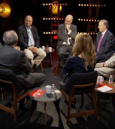 Enojado y evasivo, Meade responde cuestionamientos en entrevista colectiva en Milenio sobre Estafa Maestra, casos Duarte-Borge y corrupción en Sedesol