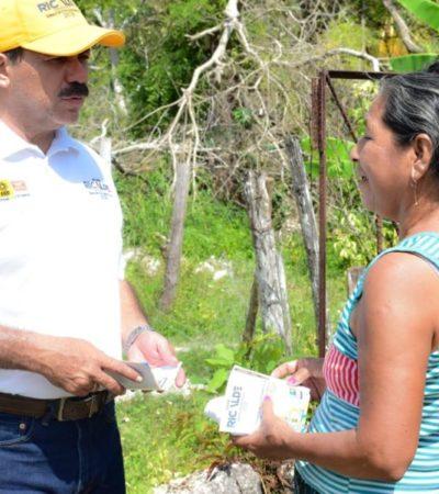 Julián Ricalde se compromete a proteger la integridad de las víctimas de la violencia