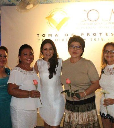 Se unen mujeres empresarias de Puerto Morelos