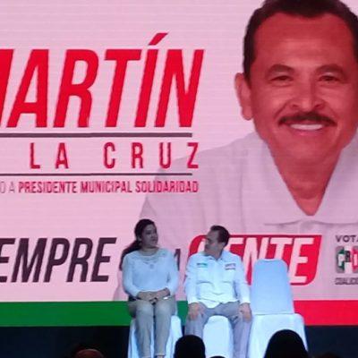 SIN MIEDO: Martín de la Cruz hará campaña pese a amenazas en su contra