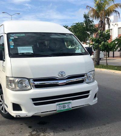 Las rutas de transporte público en Cancún tienen 20 años sin actualizarse