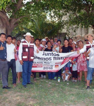 Como Solidaridad es un bastión de Morena ahora recibe a AMLO