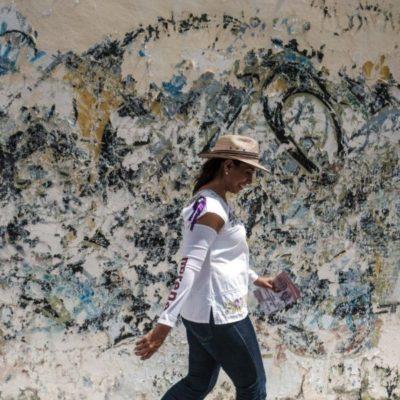 Con AMLO, asegura Marybel Villegas, se acabarán los privilegios para los funcionarios porque se les quitará el fuero a todos