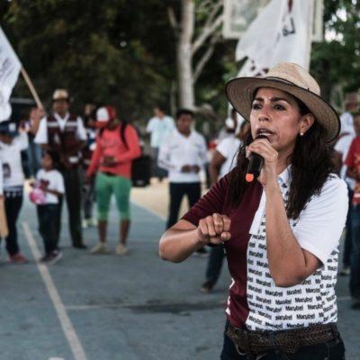 """""""Haremos renacer el campo quintanarroense"""", dice Marybel Villegas"""