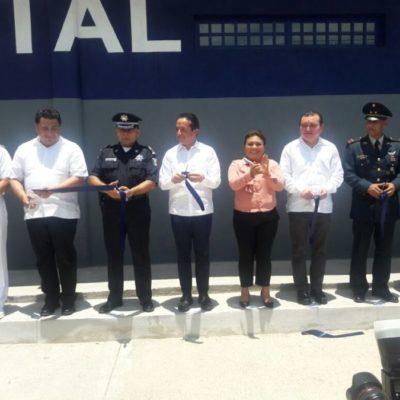 RESPUESTA AL CRIMEN: Inaugura Gobernador base de la Policía Estatal en Tulum