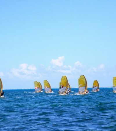 A toda vela surcará las olas de Puerto Cancún el Torneo Panamericano de windsurfing
