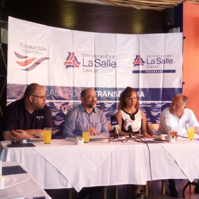 La maestría en Mercadotecnia Turística de la Universidad La Salle Cancún ayudará a la consolidación de mercados turísticos, aseguran