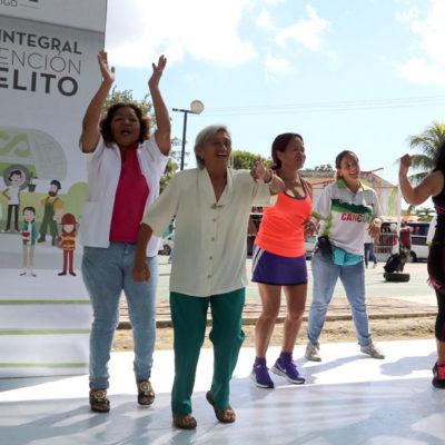 Benito Juárez incrementa prevención del delito con perspectiva de género