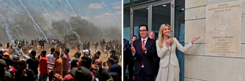 EU inaugura su embajada en Jerusalén en medio de violentas protestas en Gaza