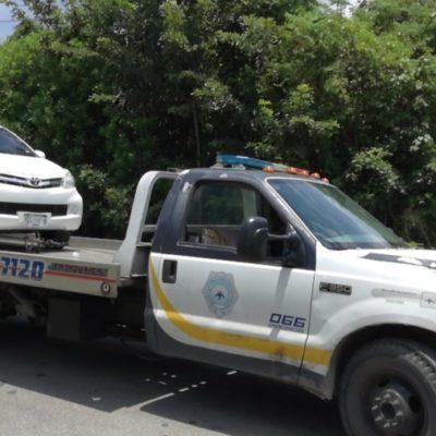 Vehículo con reporte de robo es recuperado por Policía Federal