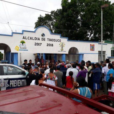 """""""Fuerzas vivas"""", grupo contra la delincuencia en Tihosuco, divide a la comunidad apenas creado"""
